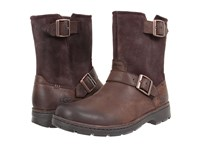 Ugg Messner Stout Leather Men's Pull On Boots Black