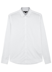 Whistles 08 30 White Cotton Oxford Shirt