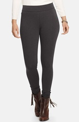 Lauren Ralph Lauren Stretch Leggings Plus Size Dark Gents Heather
