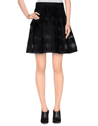 Felipe Oliveira Baptista Knee Length Skirts Black