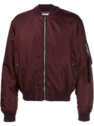 Givenchy Classic Bomber Jacket Red