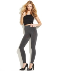 Star Power By Spanx Cuffed Leggings Heather Gray