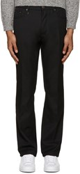 Marc Jacobs Black Wool Twill Jeans