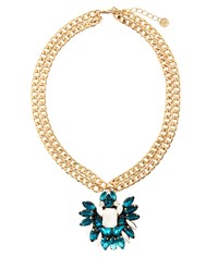 Maiocci Collection Mauka Blue Hand Made Necklace