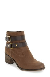 Sarto By Franco Sarto Women's 'Linden' Block Heel Bootie Desert Khaki Leather