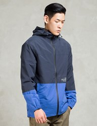 The Hundreds Navy Carson Windbreaker Jacket