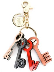 See By Chloe Love Keychain Red