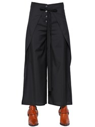 Maison Martin Margiela Wide Light Wool Pants