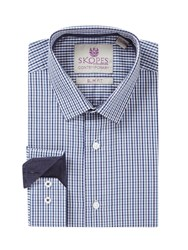 Skopes Contemporary Collection Formal Shirt Blue