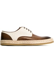 Etro 'Batisfera' Lace Up Shoes Brown