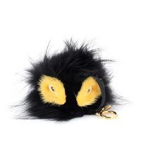 Fendi Bag Bugs Charm With Fox Mink And Rabbit Fur Multicoloured