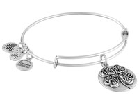Alex And Ani Four Leaf Clover Iii Bracelet Silver Bracelet