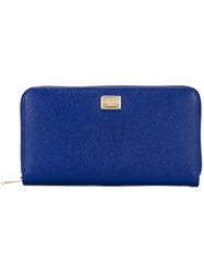Dolce And Gabbana 'Dauphine' Wallet Blue