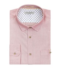 Ted Baker Gomyway Woven Shirt Male Red