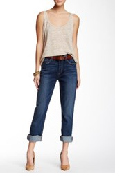 Level 99 Jeni Vintage Relaxed Straight Leg Jean Blue