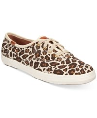 Keds Women's Champion Animal Sneakers Women's Shoes Leopard