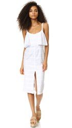 Bec And Bridge Cassidy Midi Dress White