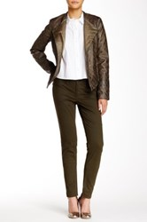 Abs By Allen Schwartz Straight Leg Twill Jean Green