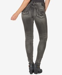 Silver Jeans Co. Suki Black Wash Skinny