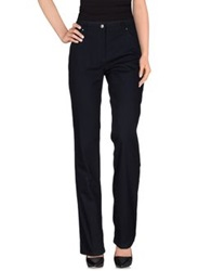 Clips More Casual Pants Dark Blue