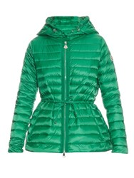 Moncler Raie Quilted Down Jacket Green