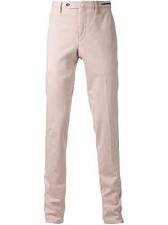 Pt01 'Reef' Slim Fit Jeans Pink And Purple