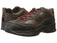 Skechers Soft Stride Constructer 2 Chocolate Men's Shoes Brown
