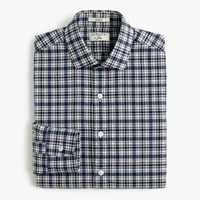 J.Crew Albiate 1830 For Ludlow Shirt In Blue Check Classic Blue