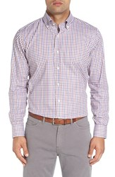 Peter Millar Men's Regular Fit Plaid Sport Shirt
