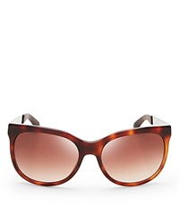 Marc By Marc Jacobs Colorblocked Wayfarer Sunglasses Havana Brown