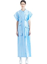 Bobby Kolade Long Short Sleeved Shirt Dress