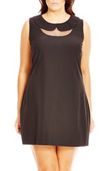 City Chic Plus Size Women's 'Tea Party' Shift Dress