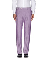 Marco Pescarolo Trousers Casual Trousers Men Lilac