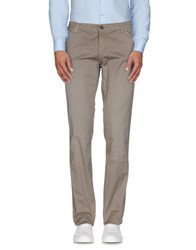 Roberto Pepe Trousers Casual Trousers Men Khaki