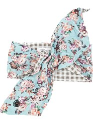 Maison Michel Floral Print Hair Tie Multicolour
