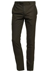 Noose And Monkey Ellroy Suit Trousers Khaki