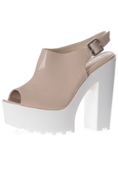 Alice And You Chunky Sole Sandal Nude