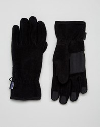 Patagonia Synchilla Gloves In Black Black