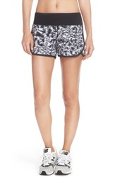 Women's New Balance 'Impact 3' Shorts Black Multi