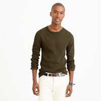 J.Crew Tall Wallace And Barnes Thermal Crewneck