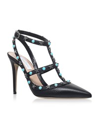 Valentino Star Studded Rockstud 100 Female Black