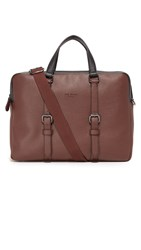 Ted Baker Alvaro Briefcase Chocolate
