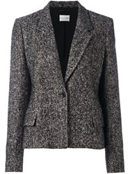 Ungaro Emanuel Single Button Blazer Black