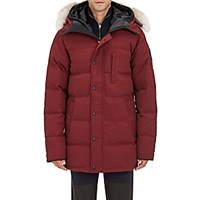 Canada Goose Men's Carson Quilted Tech Fabric Parka Red