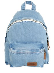 Eastpak 24L Padded Cotton Denim Backpack