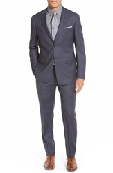 Todd Snyder Trim Fit Solid Wool Suit Navy