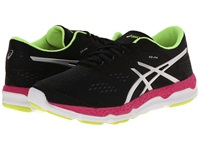 Asics 33 Fa Onyx Hot Pink Flash Yellow Women's Running Shoes Black