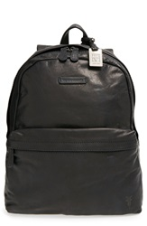 Frye 'Tyler' Leather Backpack Black
