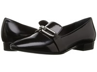 Michael Kors Lennox Loafer Black Spazzolato Women's Slip On Shoes