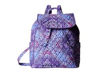 Vera Bradley Drawstring Backpack Lilac Tapestry Backpack Bags Purple